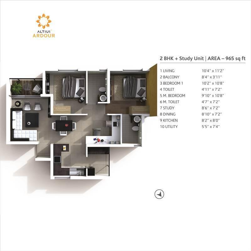 Altius - Ardour - Floorplans2
